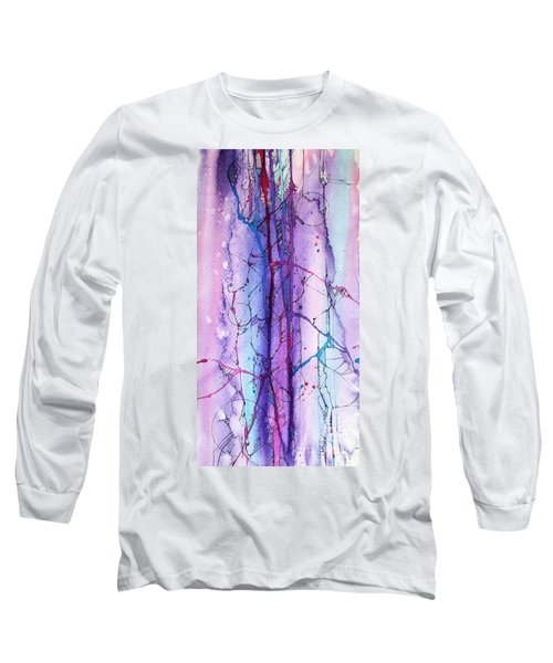 Learning To Weather The Storm Long Sleeve T-Shirt by Rebecca Davis