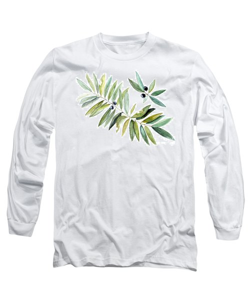 Leaves And Berries Long Sleeve T-Shirt
