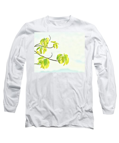 Leaves In The Sun Long Sleeve T-Shirt by Craig Wood