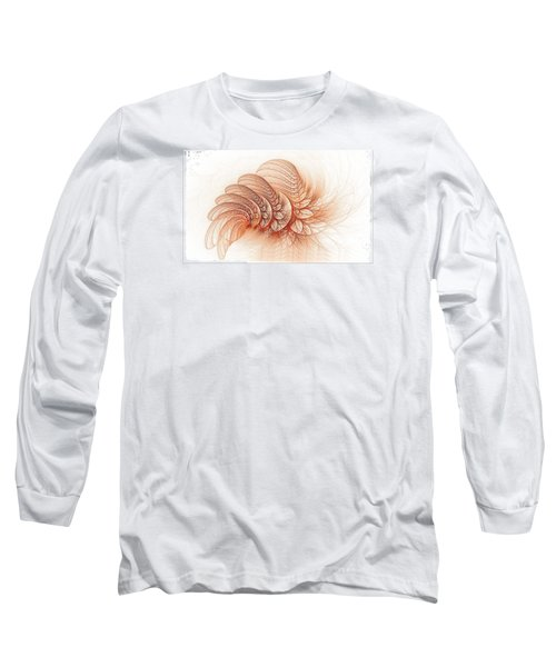 Leaves Of The Fractal Ether-2 Long Sleeve T-Shirt
