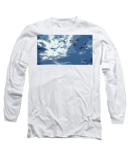 Leaving The Snow Behind Long Sleeve T-Shirt