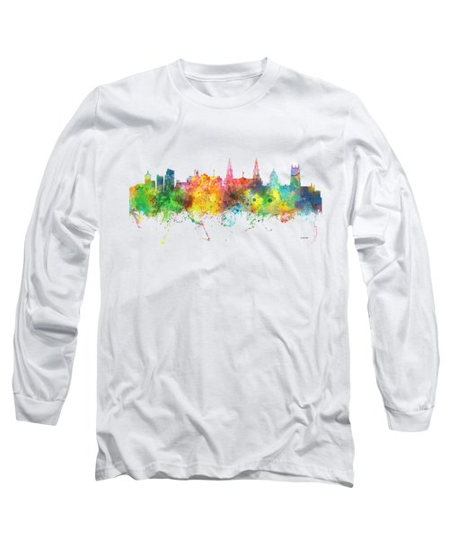 Leeds England Skyline Long Sleeve T-Shirt