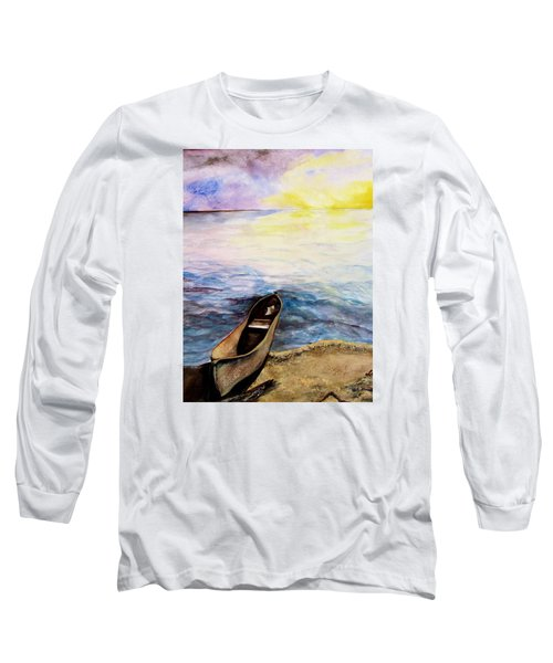 Left Alone Long Sleeve T-Shirt by Lil Taylor