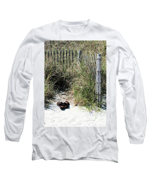 Long Sleeve T-Shirt featuring the photograph Left Behind by Cathy Harper