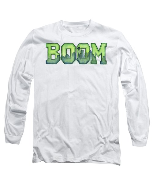 Legion Of Boom Long Sleeve T-Shirt by Olga Shvartsur