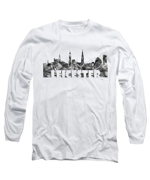 Leicester England Skyline Long Sleeve T-Shirt