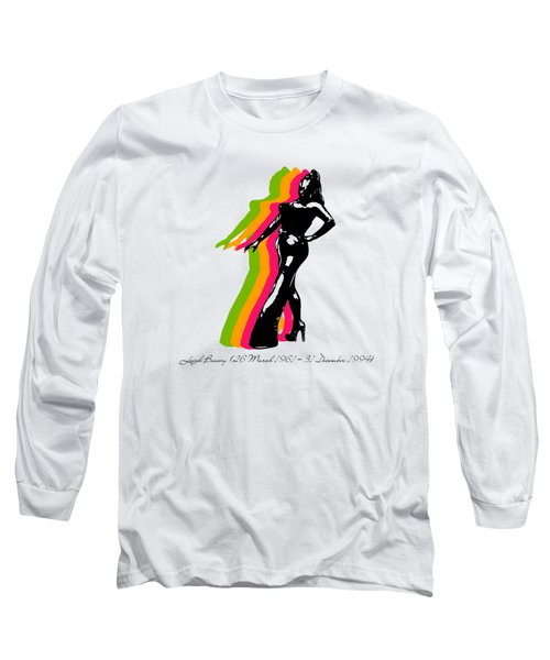Leigh Bowery 5 Long Sleeve T-Shirt