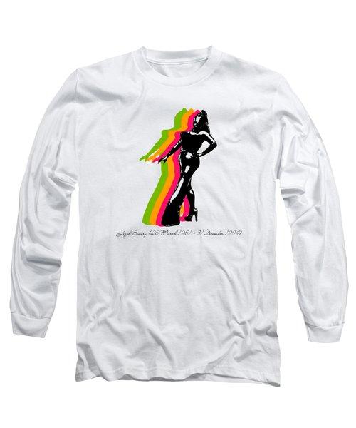 Leigh Bowery 5 Long Sleeve T-Shirt