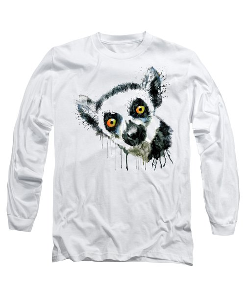 Lemur Head  Long Sleeve T-Shirt