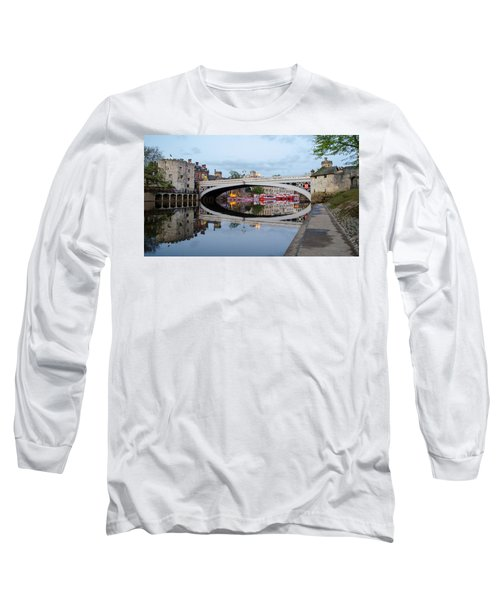 Lendal Bridge Reflection  Long Sleeve T-Shirt