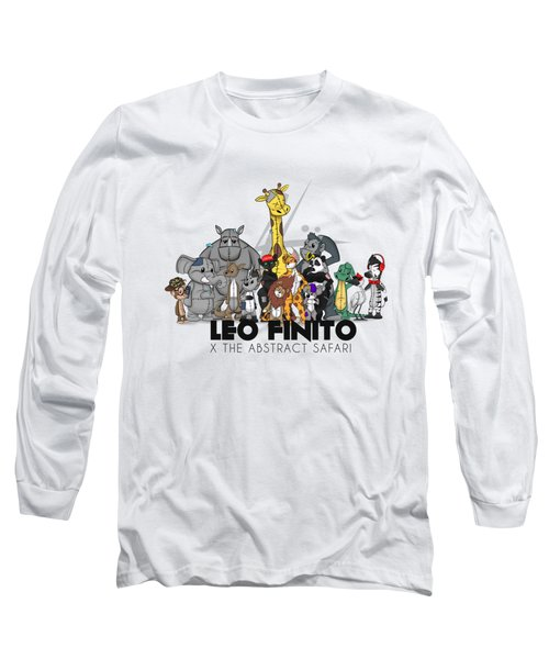 Leo Finito And The Abstract Safari Long Sleeve T-Shirt
