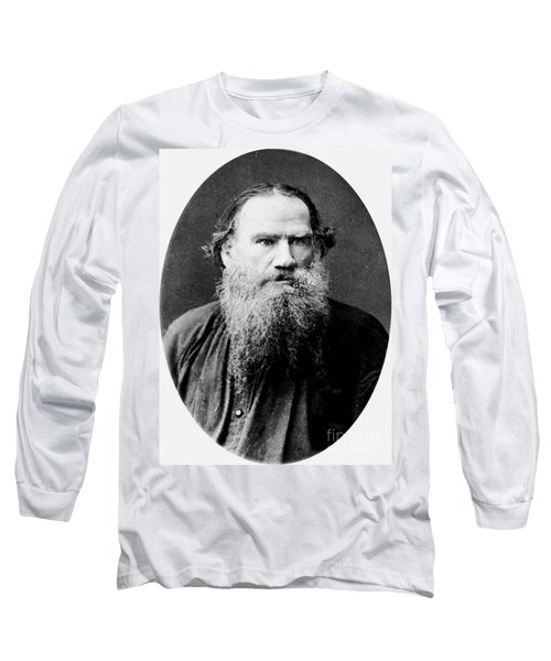 Leo Tolstoy Long Sleeve T-Shirt by Pg Reproductions