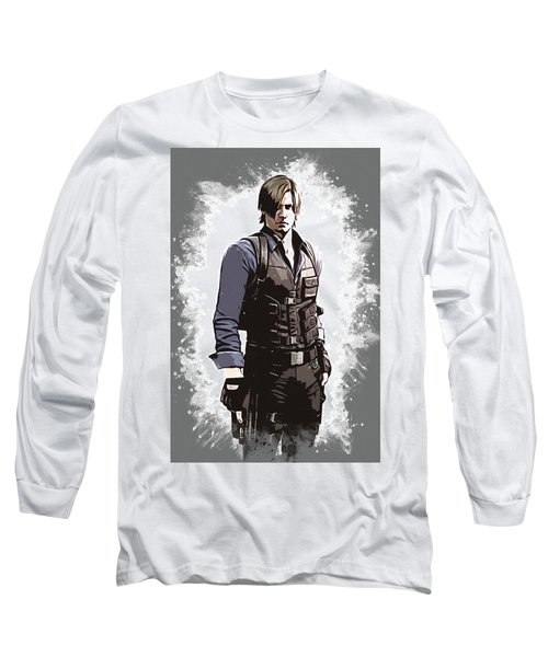 Leon S. Kennedy Long Sleeve T-Shirt