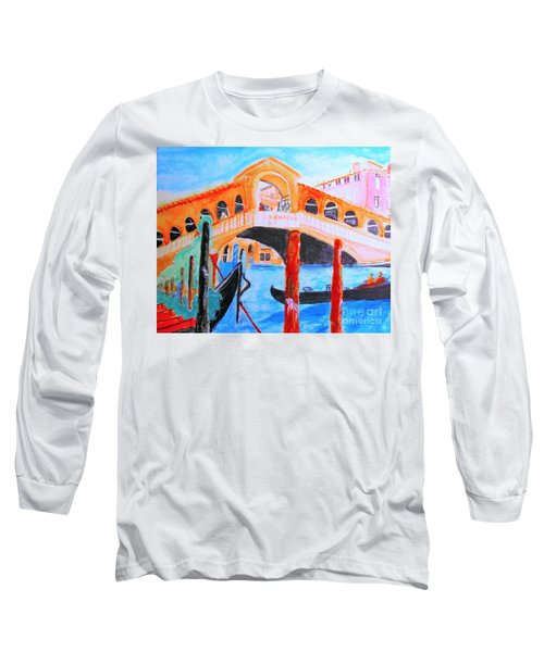 Leonardo Festival Of Venice Long Sleeve T-Shirt
