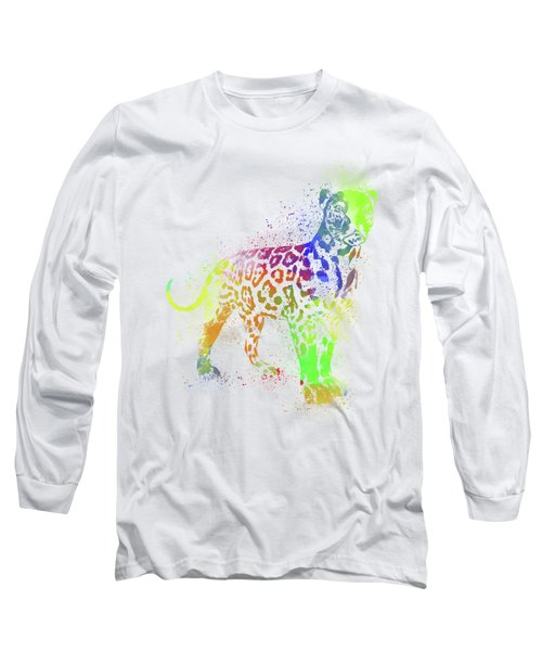 Leopard Watercolor 1 Long Sleeve T-Shirt