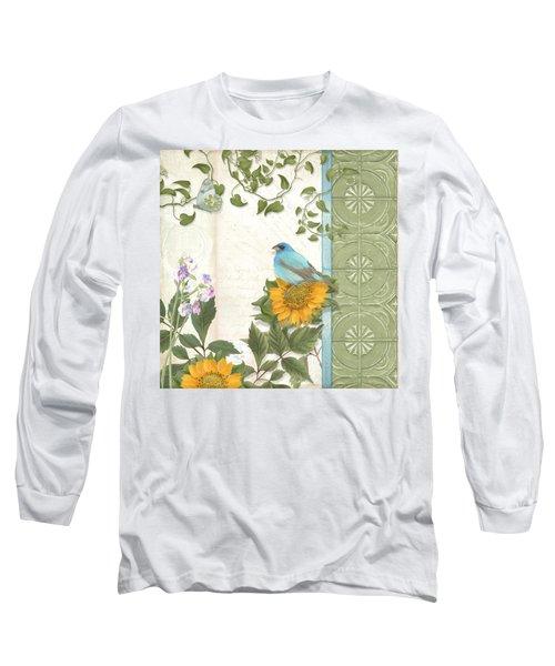 Les Magnifiques Fleurs Iv - Secret Garden Long Sleeve T-Shirt