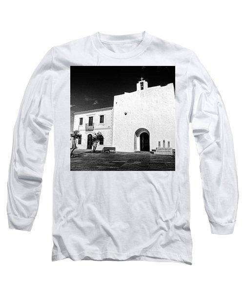 Fortified Church, Formentera Long Sleeve T-Shirt
