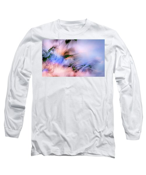 Let The Winds Of The Heavens Dance Long Sleeve T-Shirt by Theresa Tahara