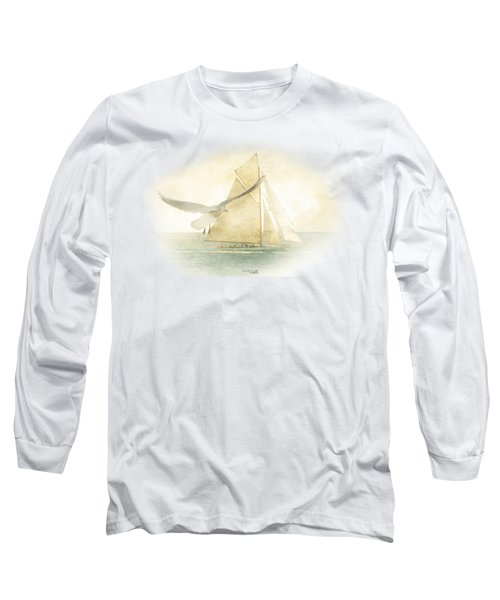 Let Your Spirit Soar Long Sleeve T-Shirt by Chris Armytage