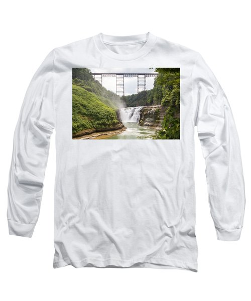 Letchworth Upper Falls Long Sleeve T-Shirt