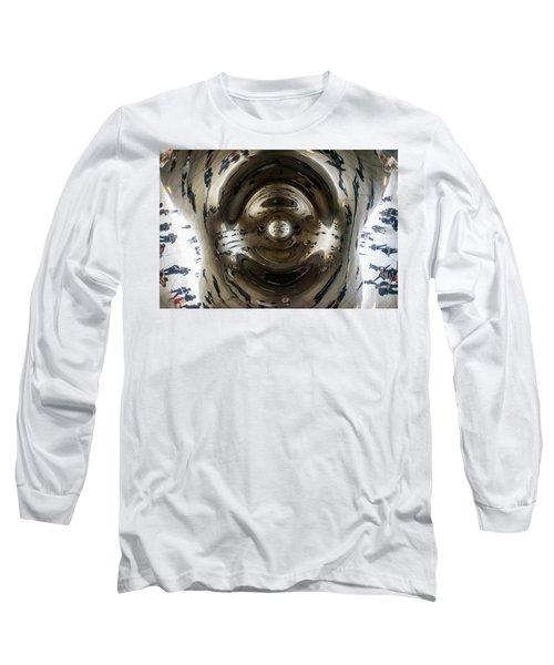 Let's Do The Time Warp Again Long Sleeve T-Shirt by Randy Scherkenbach