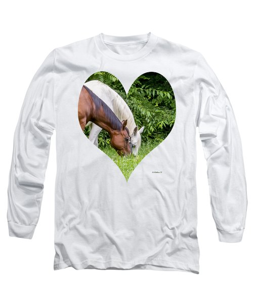 Let's Eat Out Long Sleeve T-Shirt by Brian Wallace