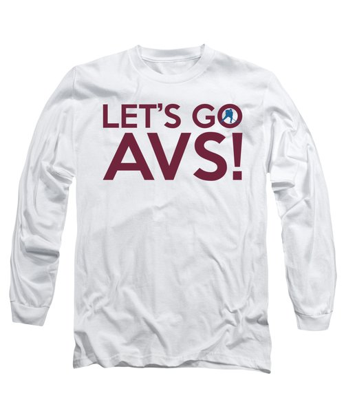 Let's Go Avs Long Sleeve T-Shirt