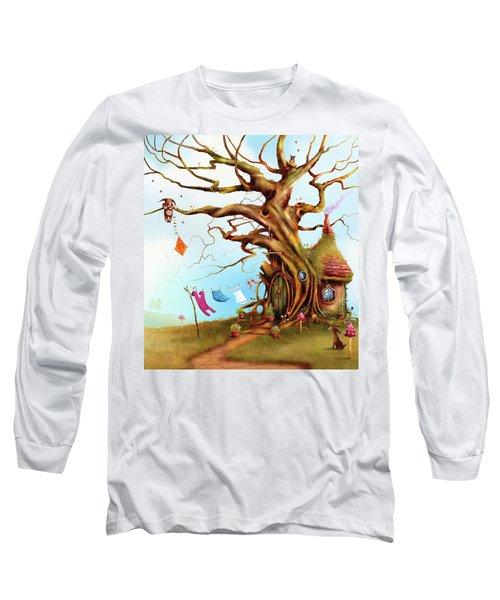 Let's Go Fly A Kite Long Sleeve T-Shirt