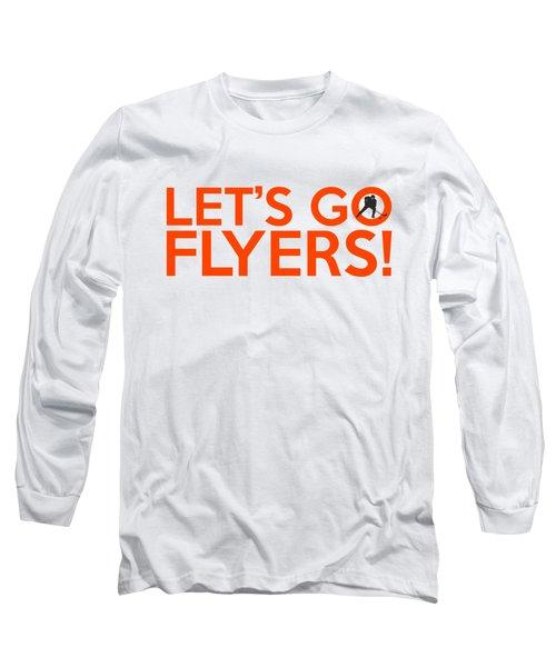 Let's Go Flyers Long Sleeve T-Shirt by Florian Rodarte