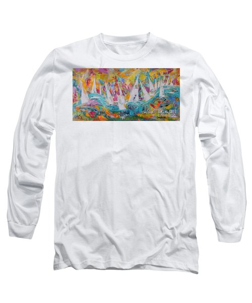 Lets Go Sailing Long Sleeve T-Shirt