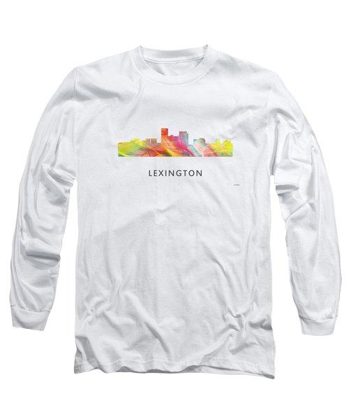 Lexington Kentucky Skyline Long Sleeve T-Shirt