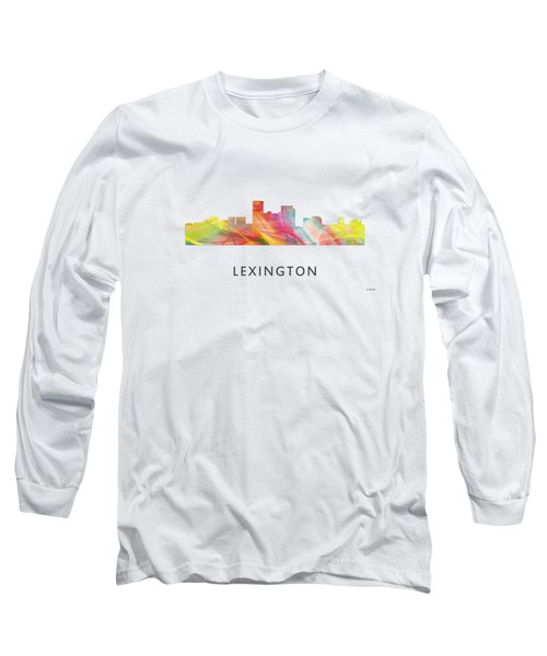 Lexington Kentucky Skyline Long Sleeve T-Shirt