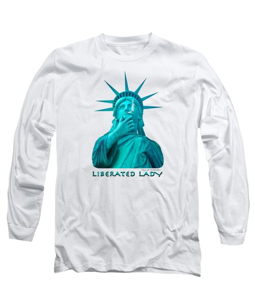 Liberated Lady 3 Long Sleeve T-Shirt by Mike McGlothlen