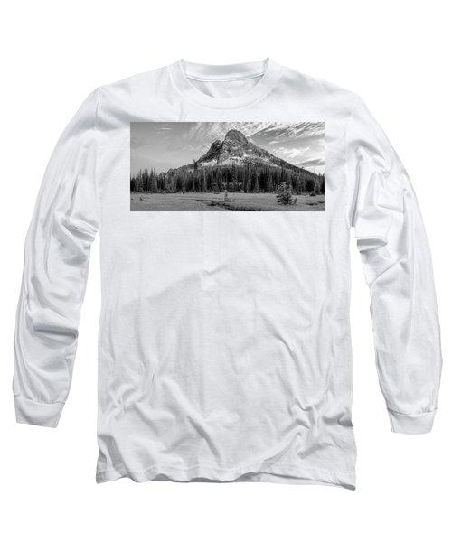 Liberty Mountain At Sunset Long Sleeve T-Shirt by Jon Glaser