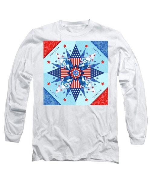 Liberty Quilt Long Sleeve T-Shirt