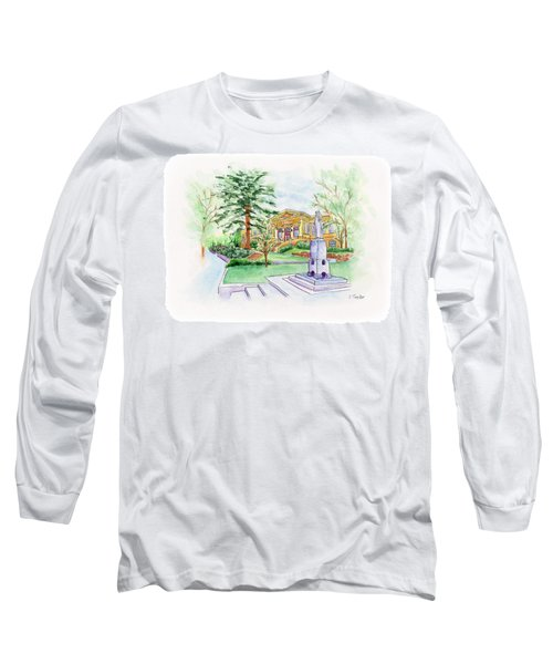 Library A Carnegie Original Long Sleeve T-Shirt