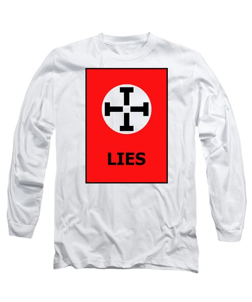 Long Sleeve T-Shirt featuring the photograph Lies by Richard Reeve
