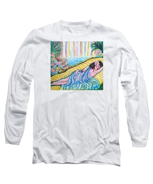 Life Doesn't Get Any Better Long Sleeve T-Shirt by Anya Heller