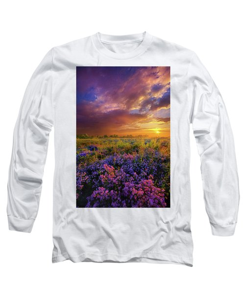 Long Sleeve T-Shirt featuring the photograph Life Is Measured In Moments by Phil Koch