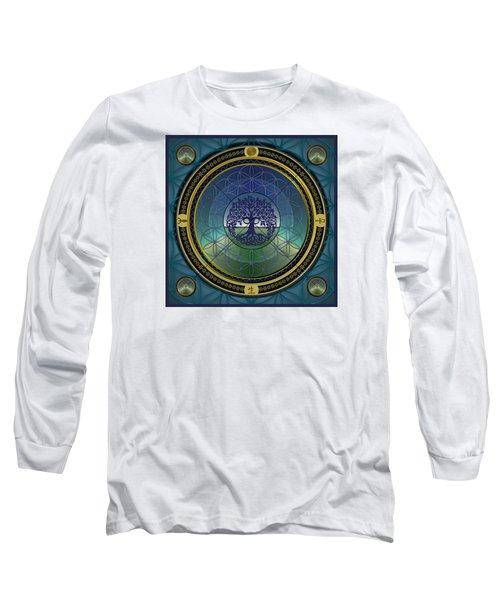 Life Mandala Long Sleeve T-Shirt