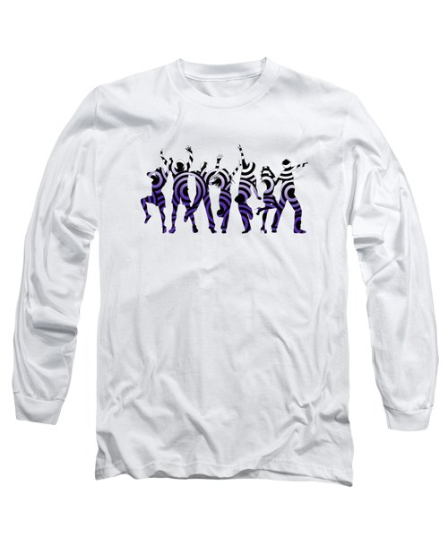 Life Of The Party Ultraviolet Long Sleeve T-Shirt