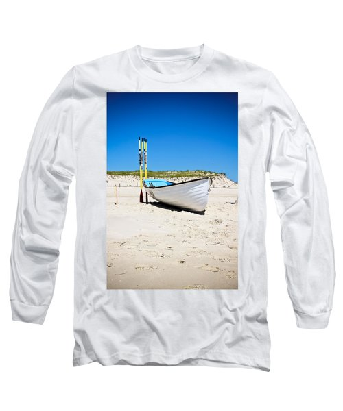 Lifeboat And Oars Long Sleeve T-Shirt