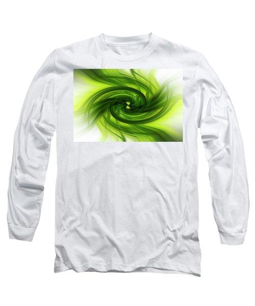 Light Abstract 8 Long Sleeve T-Shirt