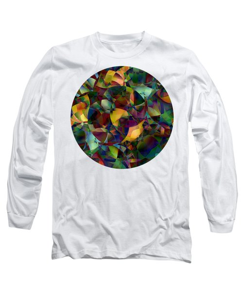 Light And Magic Abstract Digital Art Long Sleeve T-Shirt