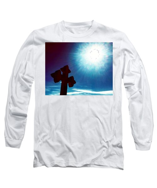 Light And Shadow Clash Long Sleeve T-Shirt