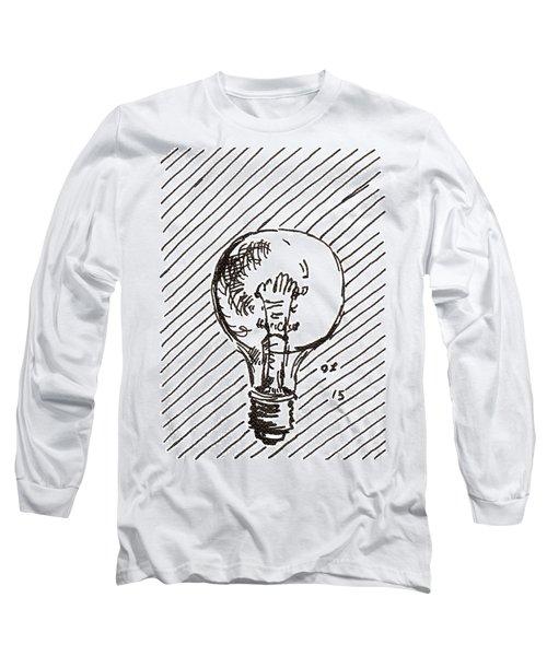 Light Bulb 1 2015 - Aceo Long Sleeve T-Shirt