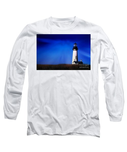 Light My Way Long Sleeve T-Shirt by Sheila Ping