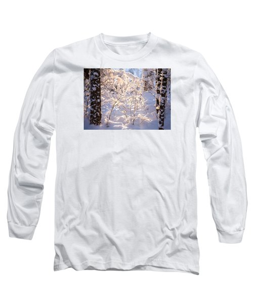 Long Sleeve T-Shirt featuring the photograph Light Of Winter by Rose-Maries Pictures