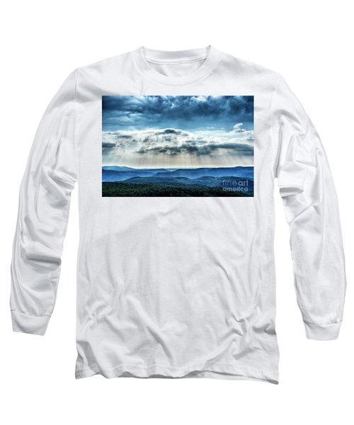 Long Sleeve T-Shirt featuring the photograph Light Rains Down by Thomas R Fletcher