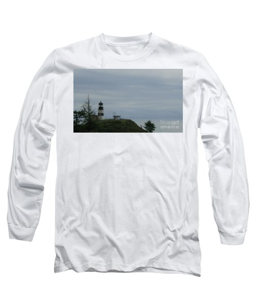 Lighthouse At Cape Disappointment Long Sleeve T-Shirt